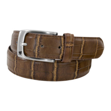 jcpenney.com | Stacy Adams® Croc-Embossed Leather Belt