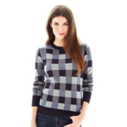 Joe Fresh™ Plaid Print Sweater