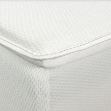 "jcpenney.com | Snuggle Home™ 2"" Dunlop Latex Mattress Topper with Memory Foam Comfort Layer"
