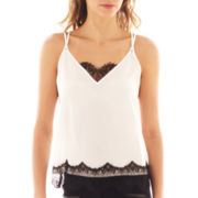 Bisou Bisou® Lace-Trim Cami