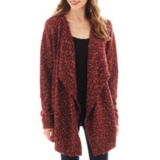 i jeans by Buffalo Long-Sleeve Flyaway Cardigan Sweater