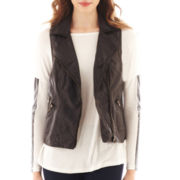 i jeans by Buffalo Faux-Leather Vest
