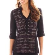 Alyx® 3/4-Sleeve Tunic Top