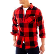 DC® Chester Flannel Button-Front Shirt