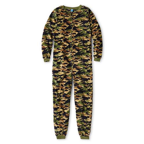 Jellifish Kids Fleece Zip-Front Pajamas – Boys 4-16