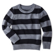 Arizona Striped Jacquard Sweater – Boys 2t-6