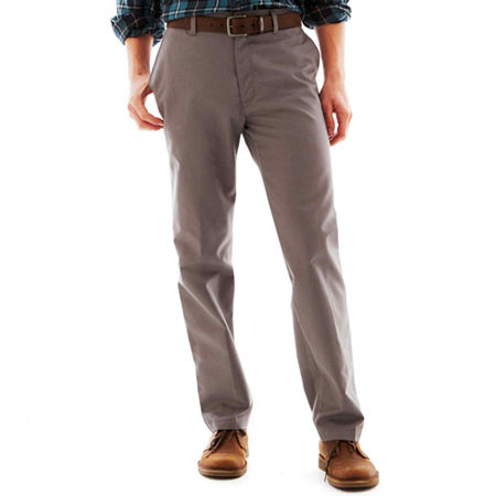 total freedom flat front pants