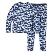 Hanes® X-TEMP 2-pc. Thermal Underwear Set – Boys XS-XL