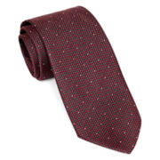 Stafford® Textured Dot Tie