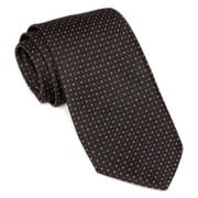 Stafford® Textured Grid Tie