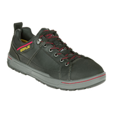 jcpenney.com | CAT® Brode EH Mens Steel-Toe Slip-Resistant Leather Sneakers