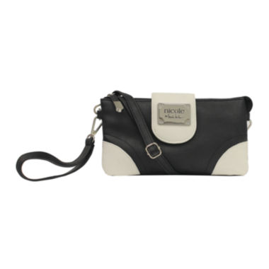 jcpenney.com | nicole by Nicole Miller® Marie Triple-Pouch Wristlet Crossbody Bag