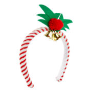 Mixit™ Candy Cane Mistletoe Holiday Headband