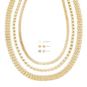 Mixit™ Gold-Tone 6-pc. Earring and Necklace Set