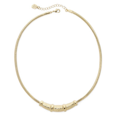 jcpenney.com | Monet® Gold-Tone Frontal Necklace