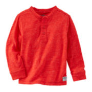 OkshKosh B'gosh® Textured Henley - Preschool Boys 4-7