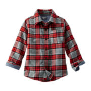 OshKosh B'gosh® Flannel Shirt - Preschool Boys 4-7