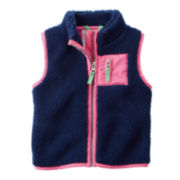 Carter's® Full-Zip Vest - Toddler Girls 2t-5t