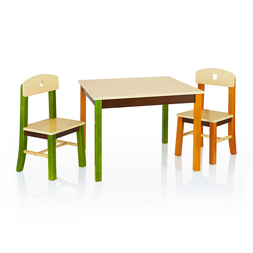 Guidecraft See and Store Table and Chair Set