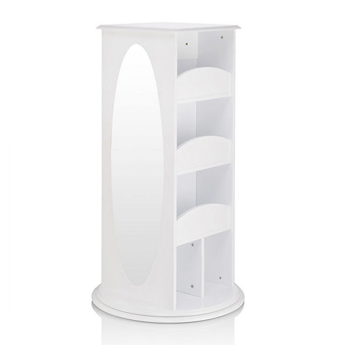 Guidecraft Rotating Dress-Up Storage - White