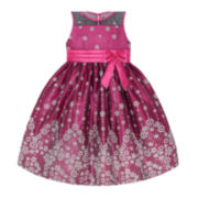 American Princess Glitter Mesh Dress - Preschool Girls 4-6x
