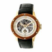 Swiss Eagle® Polar King Mens Two-Tone Strap Chronograph Watch SE-9053-33