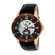 Seiko® Recraft Mens Black Bracelet Watch SKA705