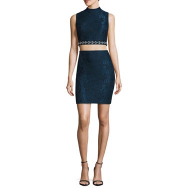 jcpenney.com | City Triangle Sleeveless Party Dress-Juniors