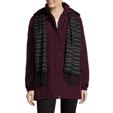 jcpenney.com | St. John Bay® Puffer w/Scarf