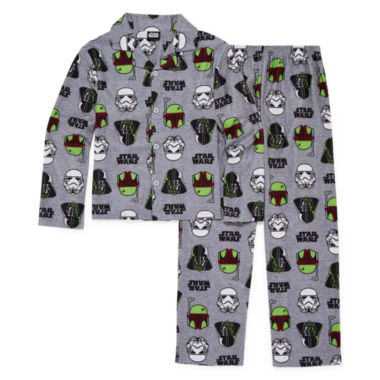jcpenney.com | Starwars Coat Front Pajama Set- Boys 4-10