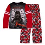 Boys Long Sleeve Lego Kids Pajama Set-Big Kid