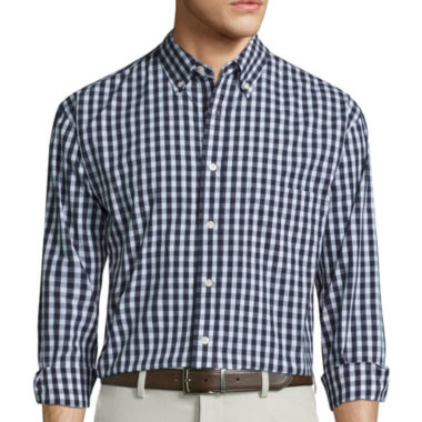 jcpenney.com | Haggar Button-Front Shirt