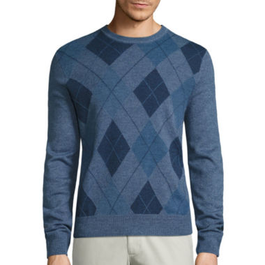 jcpenney.com | Dockers Crew Neck Long Sleeve Pullover Sweater