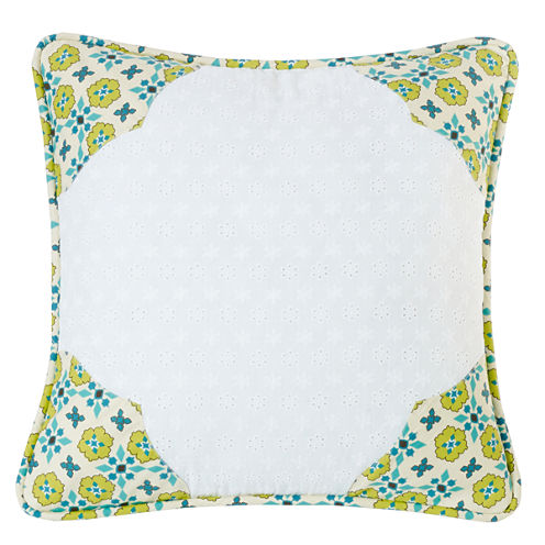 Hiend Accents Square Throw Pillow