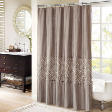 jcpenney.com | Madison Park Julien Embroidered Shower Curtain