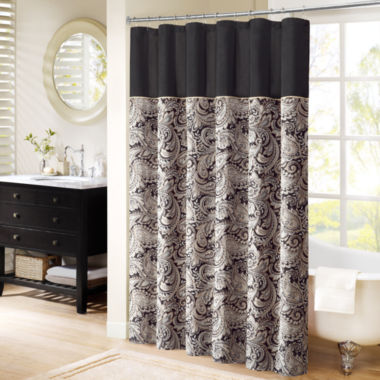 jcpenney.com | Madison Park Wellington Jacquard Shower Curtain