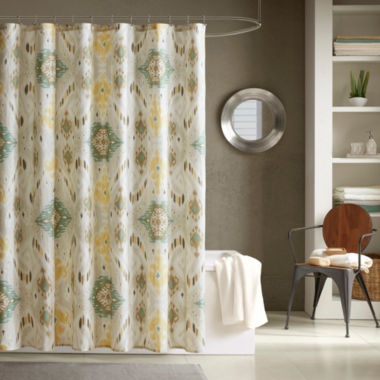 jcpenney.com | INK+IVY Nia Cotton Shower Curtain