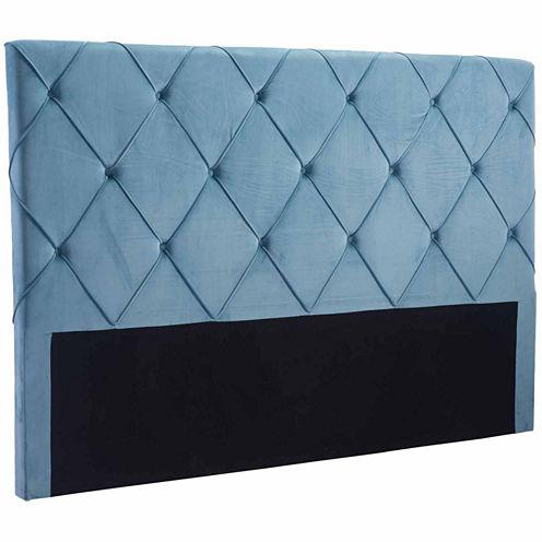 Zuo Modern Matias Velvet Upholstered Tufted Headboard