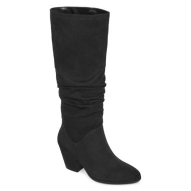 jcpenney.com | a.n.a® Linden Ruched Boots
