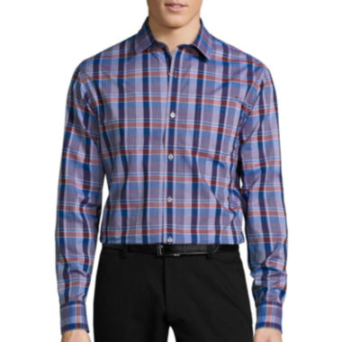 jcpenney.com | Claiborne® Long-Sleeve Woven Classic-Fit Shirt