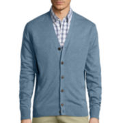 St. John's Bay® Long-Sleeve Cardigan Sweater