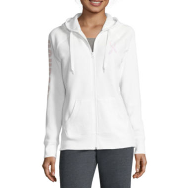 jcpenney.com | Made for Life™ Breast Cancer Zip-Up Hoodie