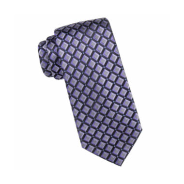 jcpenney.com | Collection by Michael Strahan™ Aspen Square Geo Silk Tie - Extra Long
