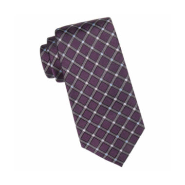 jcpenney.com | Collection by Michael Strahan™ Parker Grid Silk Tie