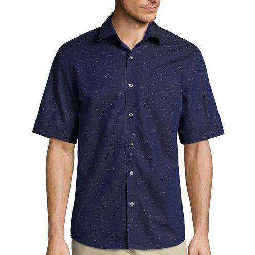 Claiborne® Short-Sleeve Woven Sport Shirt