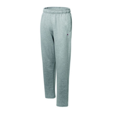 jcpenney.com | Champion® Powerblend Fleece Open-Bottom Pants