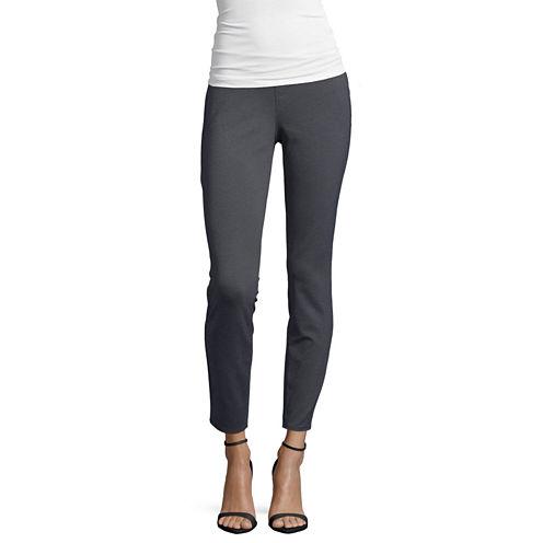 St. John's Bay® Secretly Slender Ponte Pants - Tall