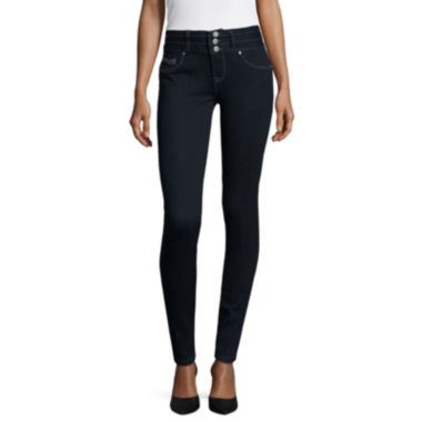 jcpenney.com | Amethyst Three-Button Jeggings  - Juniors