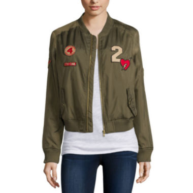 jcpenney.com | Arizona Patched Bomber Jacket - Juniors