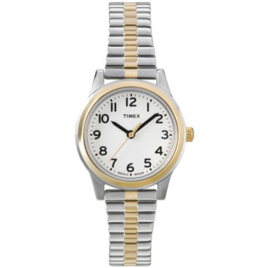 jcpenney.com | Timex® Easy Reader Womens Expansion Strap Watch
